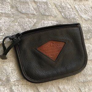 Harley-Davidson genuine leather belt pouch